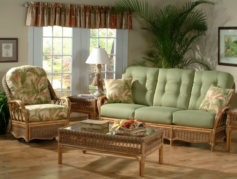Deep Seating Rattan Cushions