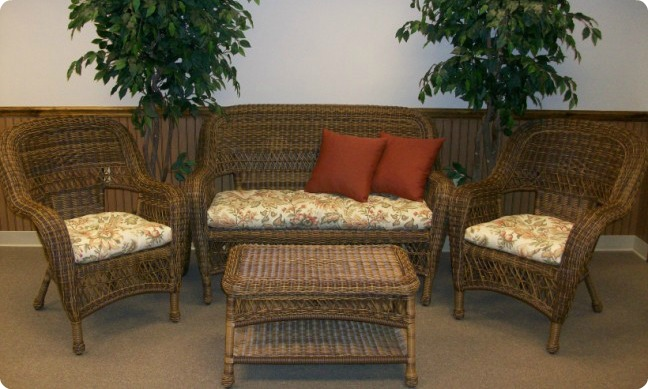 Standard Size Wicker Cushions