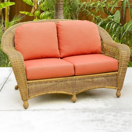 Charleston and Port Royal Loveseat Cushions