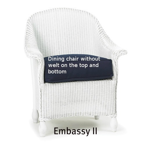 251DC - Embassy II Dining Chair Cushion