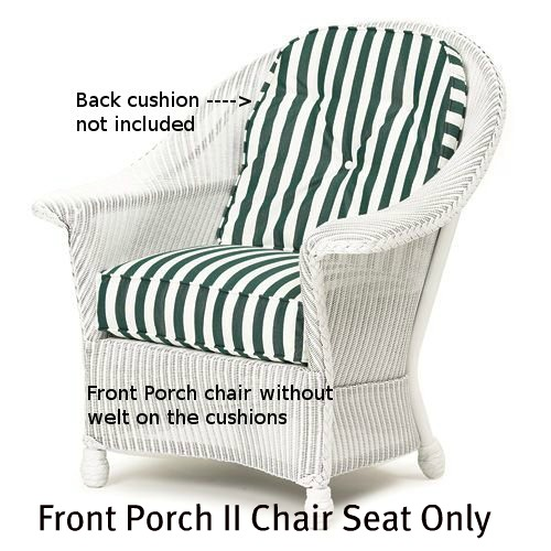 Front Porch II Chair Seat Cushion