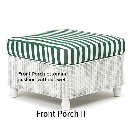 Front Porch II Ottoman Cushion