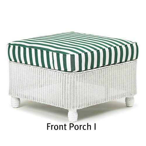 Front Porch I Ottoman Cushion