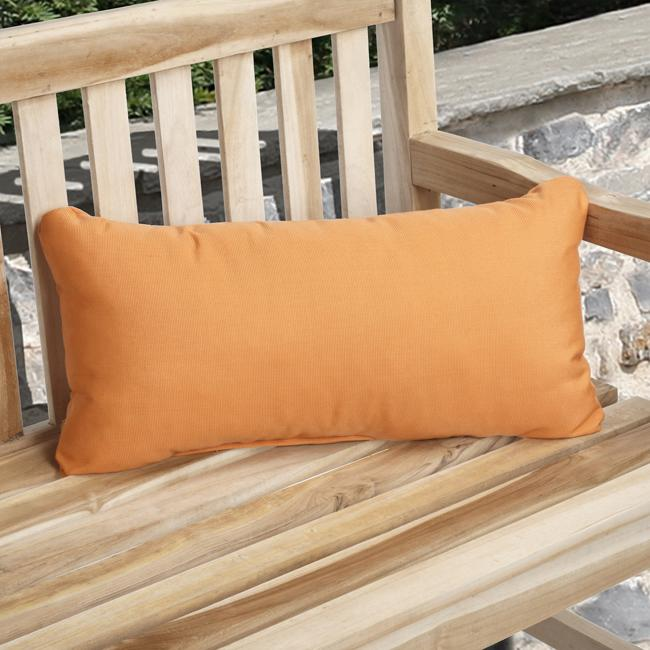 "22"" x 9"" Kidney Pillow with Welt"