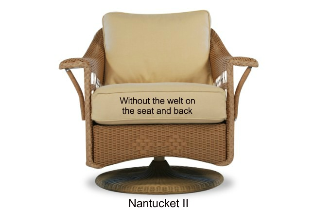 511SG - Nantucket II Glider Cushions