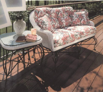 Vintage Loveseat Cushions