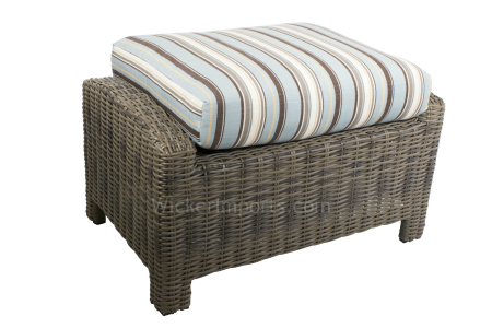 Bainbridge and Cabo Rectangle Ottoman Cushion