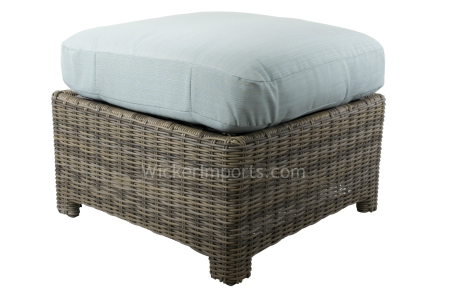Bainbridge and Cabo Square Ottoman Cushions