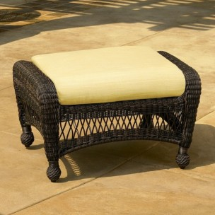 Charleston and Port Royal Ottoman Cushion