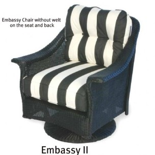 Embassy II Swivel Glider Cushions