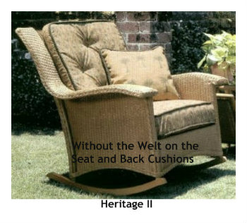 Heritage II Rocker Cushion