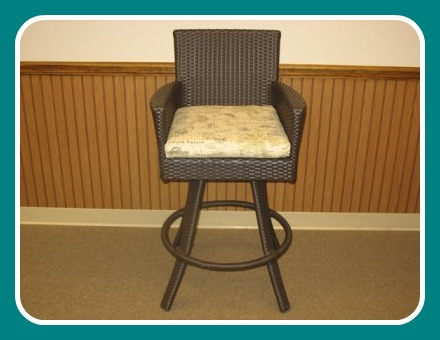 260BSC - Melrose and Malibu Barstool Cushion
