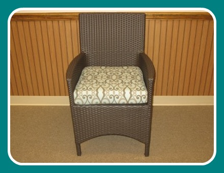 260DACC - Melrose and Malibu Armed Dining Chair Cushion