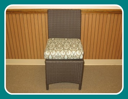260SDSCC - Melrose and Malibu Side Dining Chair Cushion