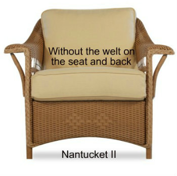 Nantucket II Chair Cushion