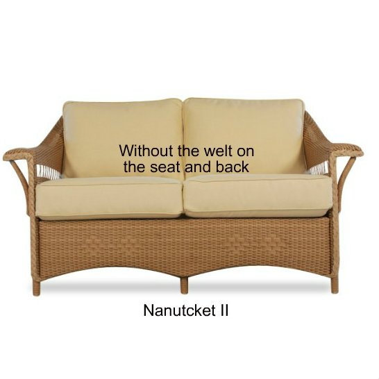 511LS - Nantucket II Loveseat Cushions