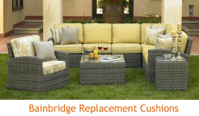Bainbridge and Cabo Cushions